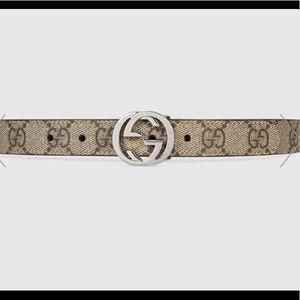 Gucci Children's supreme GG belt